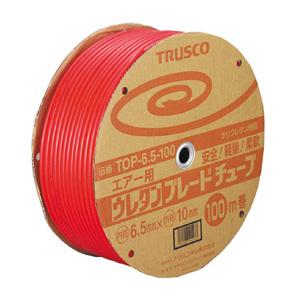 【送料無料】TRUSCOウレタンブレードチューブ8.5X12.5100m赤TOP8.5100【1043188】