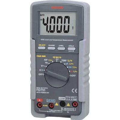 【送料無料】SANWAデジタルマルチメーター真の実効値対応RD701【3255051】