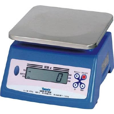 【送料無料】ヤマト防水形デジタル式上皿自動はかりUDS-210W-20KUDS210W20K【3985733】