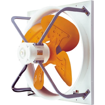 【運賃別途見積】【送料無料不可】 スイデン有圧換気扇 圧力扇ハネ径40cm1速式3相200VSCF40DD3【4602510】