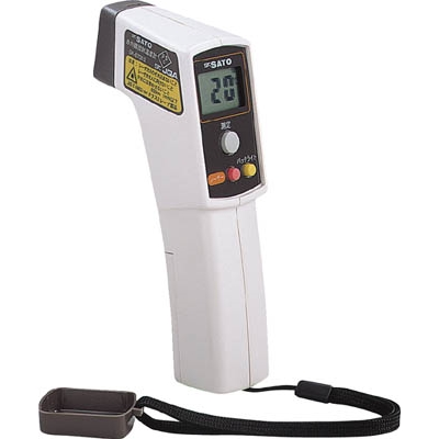 佐藤赤外線放射温度計SK87002【2218992】