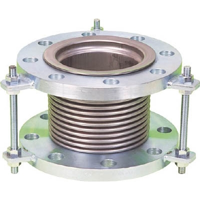 【送料無料】NFK排気ライン用伸縮管継手 5KフランジSS400 250AX250LNK7300250250【4204778】