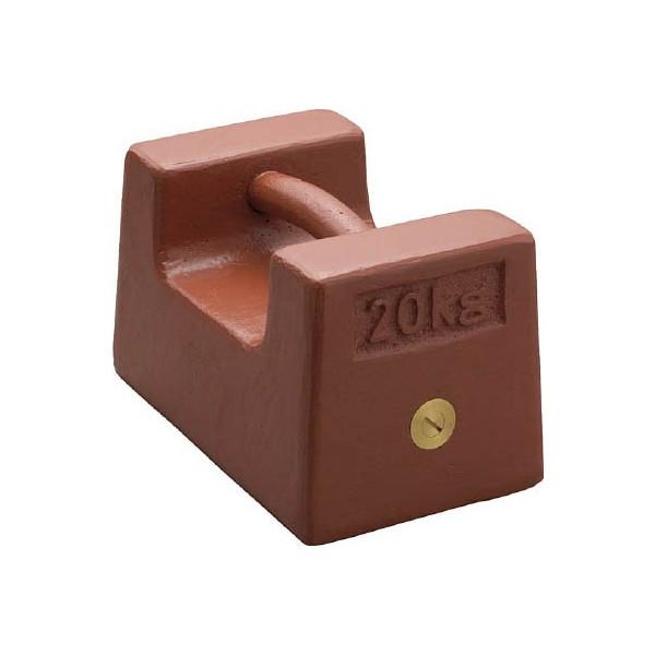 【送料無料】ViBRA鋳鉄製枕型分銅10kgM1級M1RF10K【3924459】