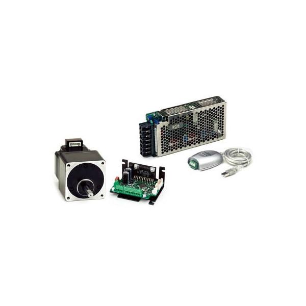 【送料無料】 シナノケンシ コントローラ内蔵マイクロステップドライバ&ステッピングモータCSA-UP56D1-SD-PSU4【4406443】