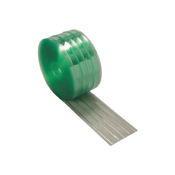 【送料無料】 TRUSCO ストリップ型リブ付き間仕切りシート静電透明3X300X30MTSR-330-30 【4540212】