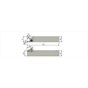 【送料無料】 タンガロイ外径用TACバイトCGSSR202020【3502112】