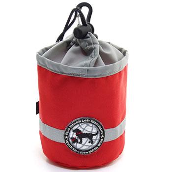 ≪トリーツバッグ 犬用≫しつけ トレーニング 犬 ドッグ トレーニングバッグ ポーチ この大きさがジャストサイズ 予約 ザ オリジナルミニトリーツポーチ レッド プロ御用達 マーケティング バッグ ブラックラブカンパニー