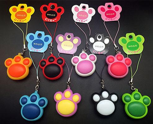 メーカー再生品 ぷにぷに 猫 往復送料無料 熊 動物かわいい肉球の癒しストラップ やわらか肉きゅうストラップ スマートレター対応 送料無料