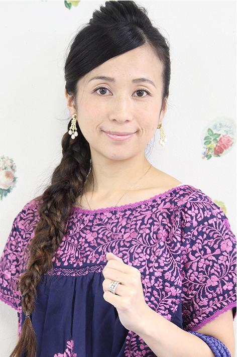 チュニック 刺繍 小花 フラワー メキシコ刺繍チュニックサンアントニーノ刺繍・かぎ編み ネイビーギフト ラッピング 結婚祝い 送料無料