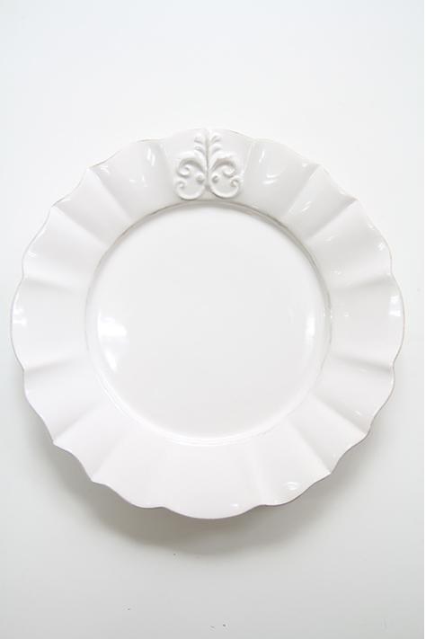 ディナープレート デザートプレート サラダプレート フリル 洋食器  楽ギフ_包装 ANTHROPOLOGIE アンソロポロジー  ギフト ラッピング 結婚祝い