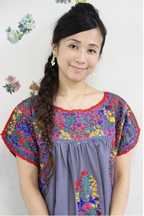 ワンピース レディース 刺繍 グレー ロング ドレス 結婚式 メキシコ刺繍 サンアントニーノ フォークロアギフト ラッピング対応可 送料無料