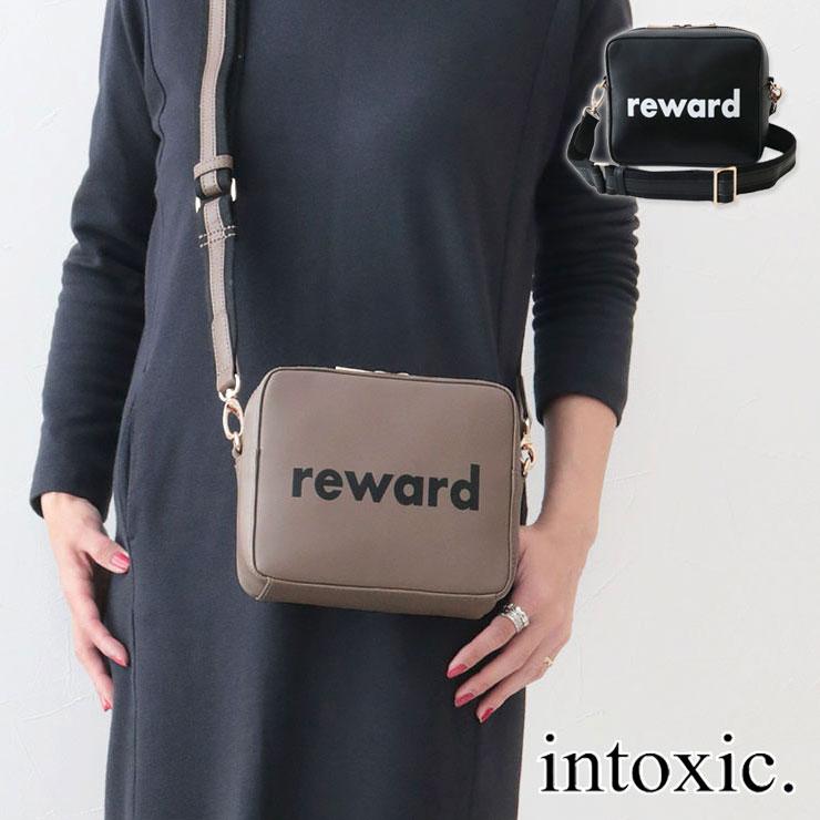 【クーポン付】 INTOXIC イントキシック バッグ RESONATES リワード ショルダーバッグ MO-005 | 斜めがけ ミニショルダー マチあり ロゴ おしゃれ レディース インスタグラム instagram プレゼント 新品