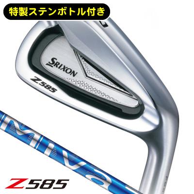 《今日だす》スリクソン Z585 MIYAZAKI for IR アイアン (6本セット) 【購入特典 スリクソン特製ステンレスボトル付き】