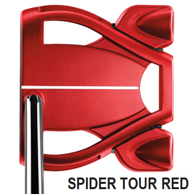 【スーパーセール値引きクーポン配布中】《今日だす》テーラーメイド スパイダー ツアー RED センターシャフト パター