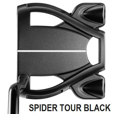 《今日だす》テーラーメイド スパイダー ツアー BLACK ダブルベンド パター
