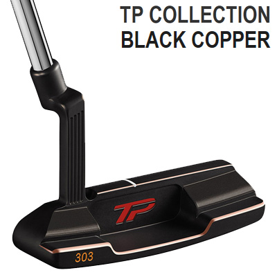 《今日だす》テーラーメイド 2018 TPコレクション ブラックカッパー JUNO パター (ラムキングリップ装着モデル)