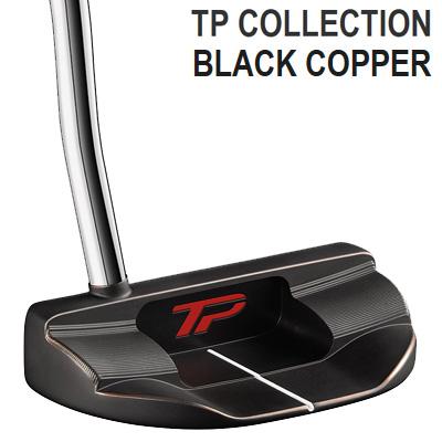 《あす楽》テーラーメイド 2018 TPコレクション ブラックカッパー MULLEN2 パター (スーパーストロークグリップ装着モデル)