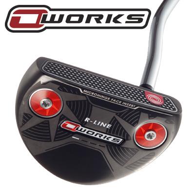 《あす楽》オデッセイ O-WORKS(オー・ワークス) R-LINE パター (SS2.0グリップ装着モデル)