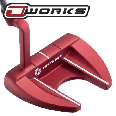 《今日だす》オデッセイ O-WORKS(オー・ワークス) RED V-LINE FANG CH パター (数量限定モデル)
