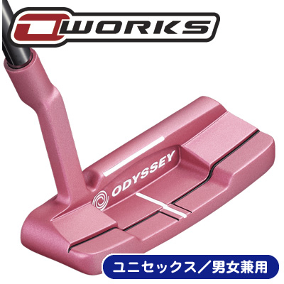 《今日だす》オデッセイ O-WORKS(オー・ワークス) ピンク #1W SH パター (数量限定モデル)