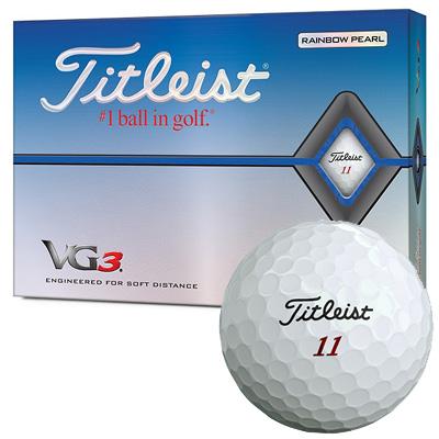 TITLEIST 2020 VG3 BALL 新品 日本正規品 無料 ゴルフボールまとめ買い1 000円OFFクーポンあり 2020 中古 《今日だす》タイトリスト 1ダース VG3 ボール レインボーパール
