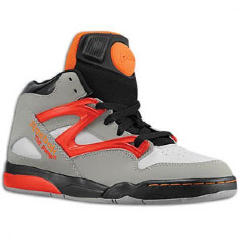 663e3b816146 (Reebok) Reebok Pump (pump) Omni (Omni) Lite (light) - boys-big kids -  Grey Black   Red   Orange (6.0 US) Street Le shoes