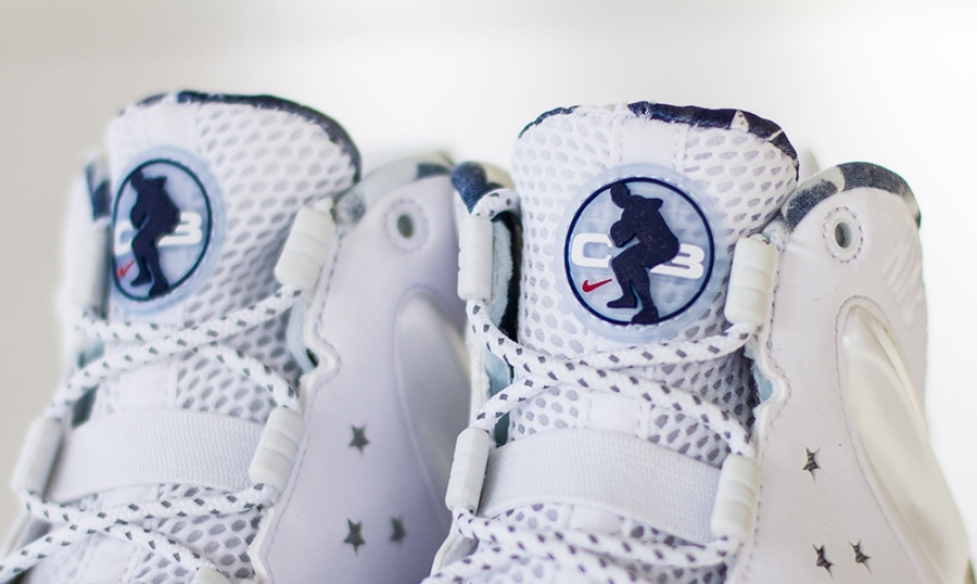 premium selection 0a1ec 70919 Nike Nike BARKLEY POSITE バークレーポジット MAX PRM QS USA 588527 Nike 100 White Metallic  Silver Midnight Navy Nike
