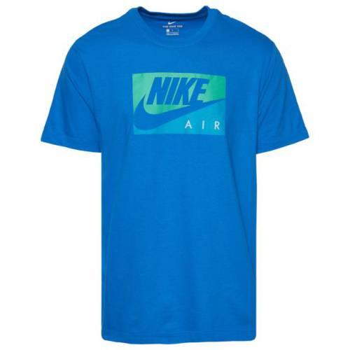 ナイキ NIKE エア Tシャツ 青 ブルー 緑 グリーン 【 AIR BLUE GREEN NIKE BOXED TSHIRT 】 メンズファッション トップス Tシャツ カットソー