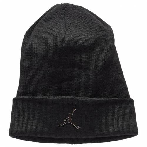 スポーツブランド カジュアル ファッション キャップ 5%OFF ナイキ ジョーダン JORDAN ビーニー 帽子 黒色 ブラック シルバー BLACK SILVER ベビー 安売り CUFFED マタニティ BEANIE 銀色 キッズ 下 METALLIC