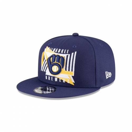ファッションブランド カジュアル ファッション キャップ ハット NEW ERA MLB SHAPES ニューエラ ミルウォーキー ブルワーズ スナップバック バッグ 青色 ブルー 【 SNAPBACK MLB SHAPES 9FIFTY BLUE 】
