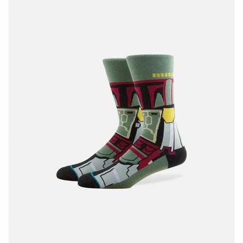 ファッションブランド カジュアル ファッション スタンス STANCE 靴下 緑 グリーン スターウォーズ GREEN ナイトウエア 下着 新作製品 世界最高品質人気 超激安 BOBA インナー MENS SOCKS 下 メンズ レッグ FETT