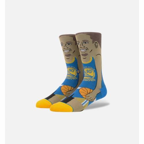 ファッションブランド カジュアル ファッション スタンス STANCE 最新 ステファン カリー 靴下 青色 ブルー MEN'S SOCKS 安売り 下 CURRY メンズ STEPHEN インナー ナイトウエア BLUE レッグ 下着