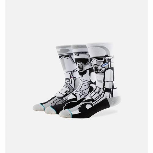 ファッションブランド カジュアル ファッション ギフト スタンス STANCE クルー 靴下 半額 灰色 グレー スターウォーズ レッグ TROOPER ナイトウエア GREY メンズ 下着 SOCKS CREW 下 インナー