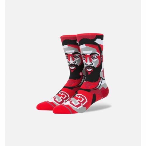 ファッションブランド カジュアル ファッション スタンス STANCE ジェームズ ハーデン クラシック クルー 靴下 赤 レッド 黒色 ブラック 特価キャンペーン 灰色 RED HARDEN CLASSIC 激安特価品 MOSAIC インナー 下 BLACK LEGENDS JAMES CREW NBA SOCKS MEN'S グレー GREY