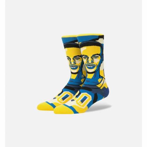 ファッションブランド カジュアル ファッション スタンス STANCE ステファン カリー クラシック クルー 靴下 期間限定の激安セール 青色 ブルー 黄色 イエロー MEN'S CREW ナイト NBA YELLOW BLUE CLASSIC STEPHEN SOCKS MOSAIC インナー ROYAL 引き出物 下着 LEGENDS CURRY