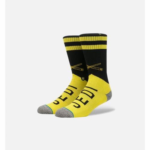 ファッションブランド カジュアル ファッション スタンス STANCE 靴下 黄色 イエロー [再販ご予約限定送料無料] スターウォーズ MEN'S YELLOW 一部予約 SOCKS 下 メンズ JEDI 下着 レッグ インナー VARSITY ナイトウエア