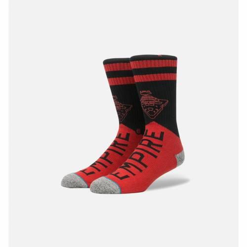 ファッションブランド カジュアル ファッション スタンス STANCE 靴下 赤 レッド スターウォーズ MEN'S 正規認証品 新規格 下着 セールSALE%OFF VARSITY インナー メンズ レッグ SOCKS 下 ナイトウエア RED EMPIRE