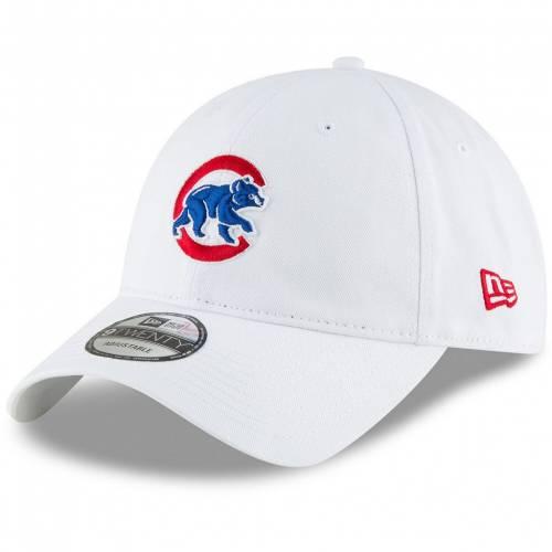 ファッションブランド カジュアル ファッション ニューエラ NEW ERA エラ 白色 ホワイト シカゴ カブス 爆安 チーム コア クラシック CLASSIC CUB 帽子 キャップ CORE メンズキャップ TEAM WHITE バッグ 9TWENTY 当店は最高な サービスを提供します SECONDARY ADJUSTABLE HAT