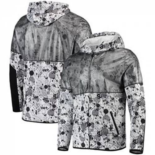 UNBRANDED 白 ホワイト ミルウォーキー バックス 【 WHITE UNBRANDED MILWAUKEE BUCKS RECON INTERLOCK FULLZIP HOODIE BUK 】 メンズファッション コート ジャケット