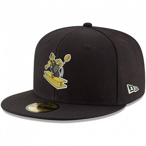 ブラック 黒色 HAT ピッツバーグ 】 BLACK 【 THROWBACK バッグ FITTED ニューエラ NEW キャップ 59FIFTY STL 帽子 帽子  メンズキャップ ERA ERA OMAHA NEW スティーラーズ