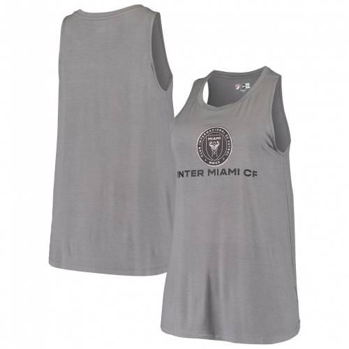 ファッションブランド カジュアル ファッション タンクトップ ニューエラ NEW ERA エラ 灰色 グレー 新着セール グレイ インテル トップス マイアミ GRAY いつでも送料無料 5TH MLS BY チーム GREY OCEAN TEAM レディースファッション