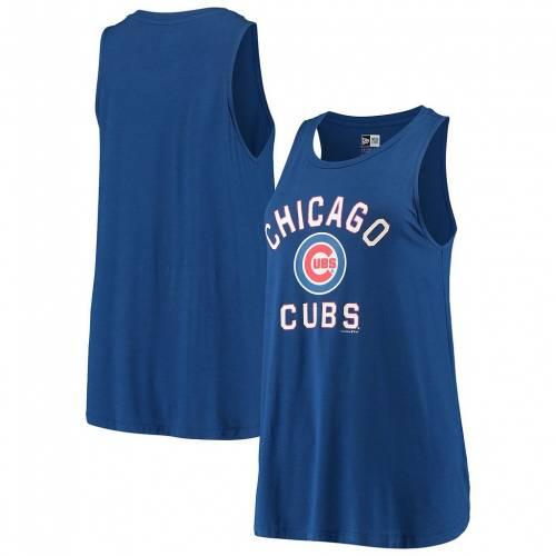 即出荷 ファッションブランド カジュアル 激安☆超特価 ファッション タンクトップ ニューエラ NEW ERA エラ シカゴ カブス 青色 トップス CUB チーム ROYAL ブルー レディースファッション BLUE TEAM
