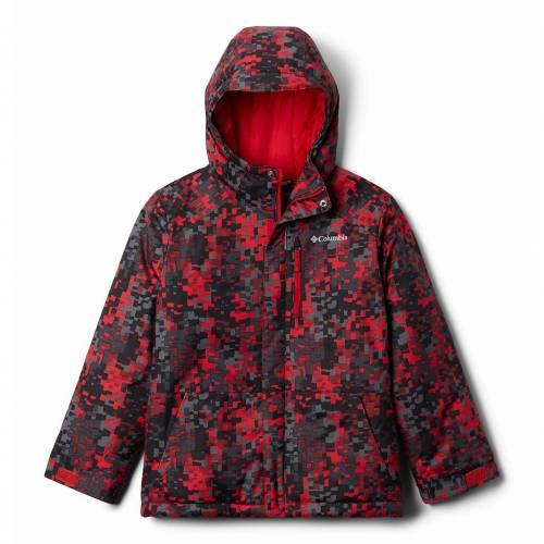 上質で快適 コロンビア COLUMBIA フード付 ジャケット フード付ジャケット Mountain キッズ ベビー】【 マタニティ コート ジュニア【 S Hooded Jacket】 Mountain Red Weave, イワクニシ:47a0add1 --- rishitms.com