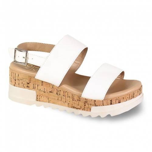<title>ファッションブランド カジュアル ファッション サンダル YOKI 白色 ホワイト BRENDA 80 低価格化 PLATFORM SANDALS WHITE</title>