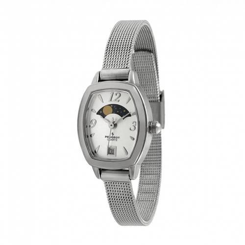最新のデザイン PEUGEOT フェイズ WATCH ウォッチ 時計 PHASE 腕時計 銀色 シルバー【 WATCH SILVER PEUGEOT MOON PHASE 712S】 腕時計 レディース腕時計, ストール専門店 インドリーム:ab3388c1 --- coursedive.com