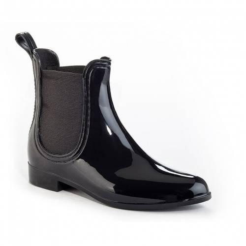<title>ファッションブランド カジュアル ファッション 数量限定 スニーカー HENRY FERRERA ヘンリー ブーツ 黒色 ブラック CLARITY RAIN BOOTS BLACK</title>