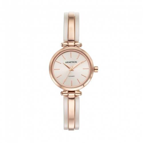 低価格で大人気の ARMITRON ウォッチ 時計 腕時計【 WATCH【 ARMITRON CERAMIC HALFBANGLE BLUSH ウォッチ】 腕時計 レディース腕時計, ムロウムラ:20755432 --- coursedive.com