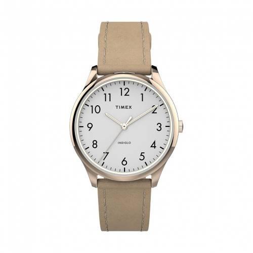 ファッションブランド カジュアル ファッション ウォッチ タイメックス TIMEX モダン レザー 時計 READER TW2T72400JT 毎日続々入荷 EASY MODERN WATCH TAN 予約販売品 腕時計 レディース腕時計 LEATHER