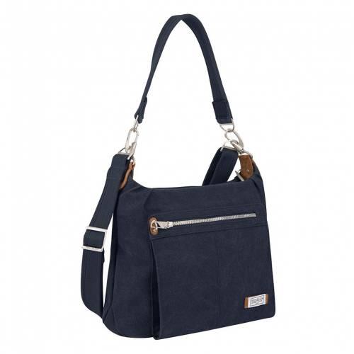 ファッションブランド 1年保証 カジュアル ファッション アクセサリー TRAVELON バッグ 誕生日プレゼント 藍色 HERITAGE インディゴ RFIDBLOCKING BAG INDIGO ANTITHEFT HOBO