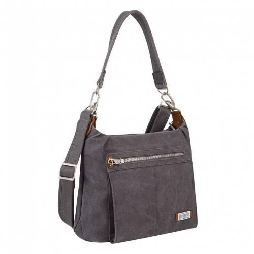 ファッションブランド カジュアル ファッション アクセサリー TRAVELON 贈答 バッグ 100%品質保証 PEWTER ANTITHEFT BAG HOBO RFIDBLOCKING HERITAGE